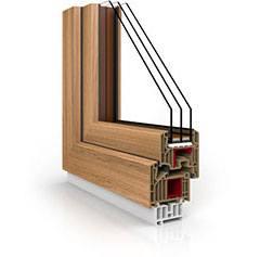 Okna Vetrex / Trzyszybowe okna