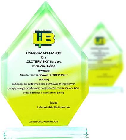 Specjalna Nagroda Lubuskiej Izby Budownictwa